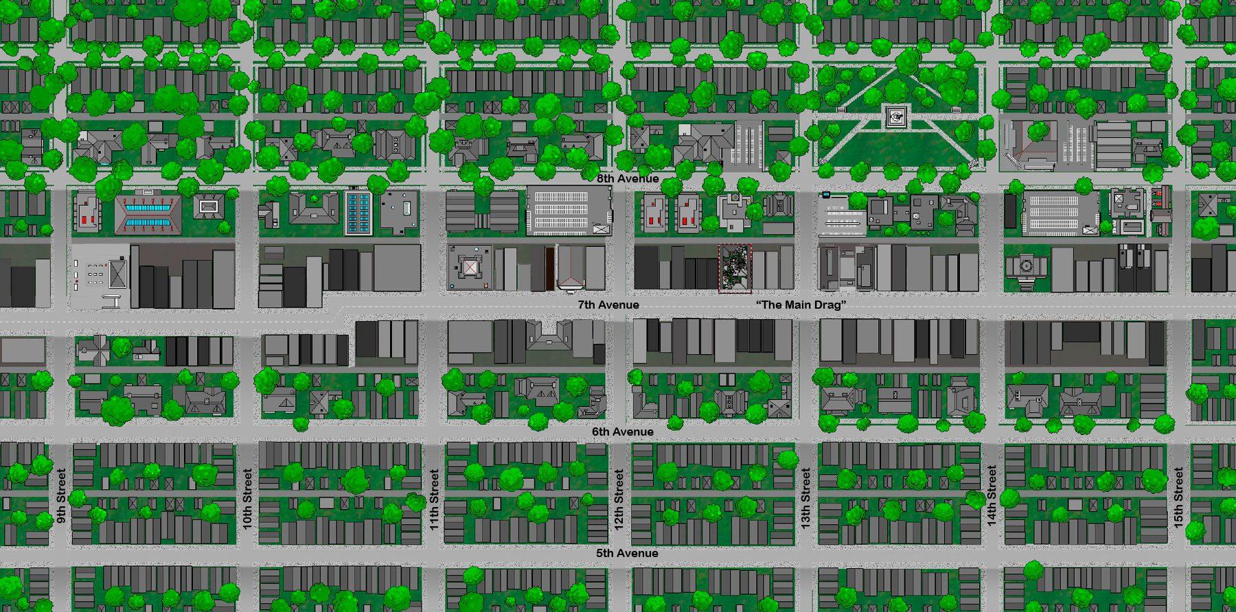 Furnass Downtown 1985